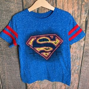 Boys Superman Shirt